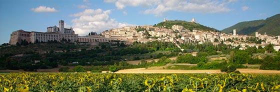 Visitar Asis un pueblo Italiano hermoso