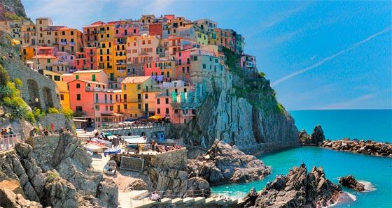 Corgniglia y sus playas