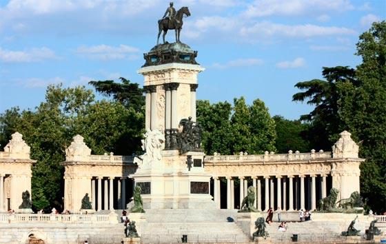 Ver monumentos y estatuas en Madrid