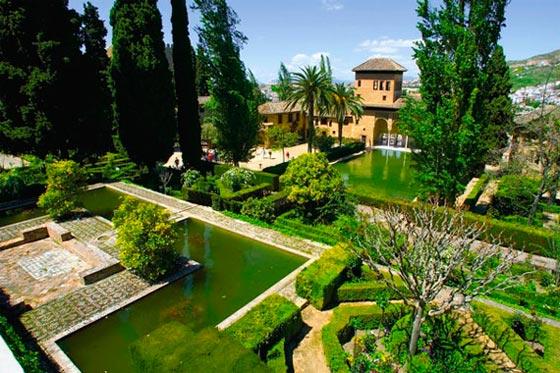 Granada Alhambra jardines
