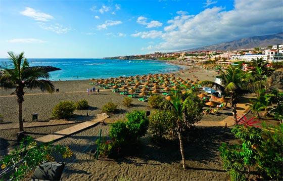 Playa Las Americas de Tenerife