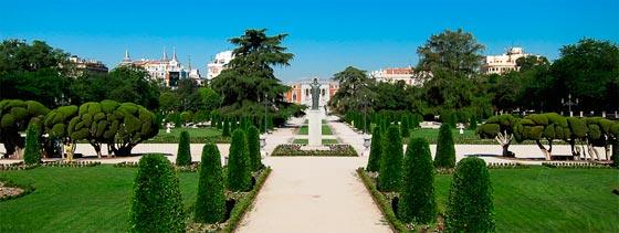 Verdes parques para visitar en Madrid