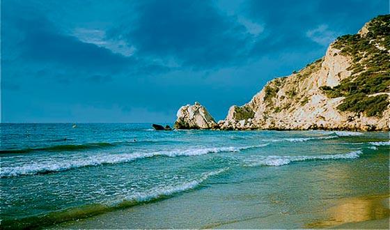 Altea una de las playas de Alicante
