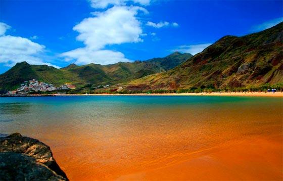 Doradas playas de Islas Canarias