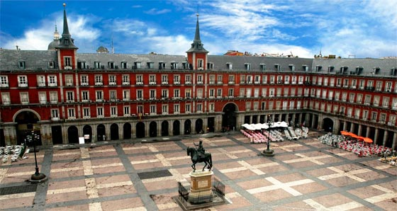 Guadarrama una plaza española