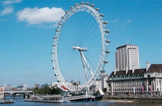 Turismo sobre el Tamesis en Londres