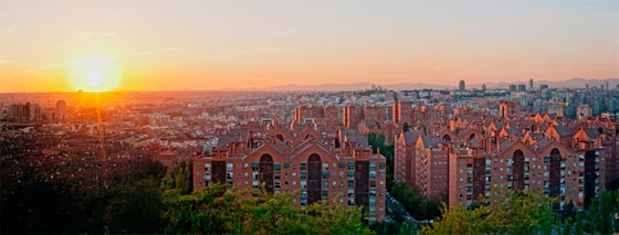Viajar a Madrid y recorrer las Siete Tetas