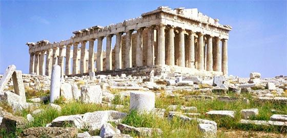 Grecia y su templo de Atenea