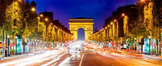 Champs Elysees marca los rumbos de Francia