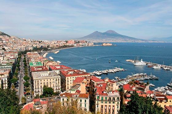 Visitar Nápoles y sus costas