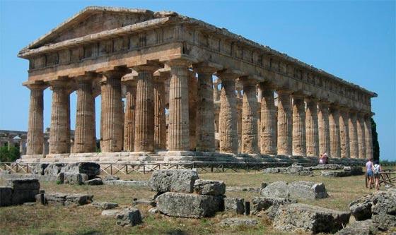 Templo de Poseidón en Atenas, Grecia